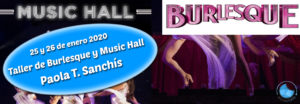 Taller de Burlesque y Music Hall